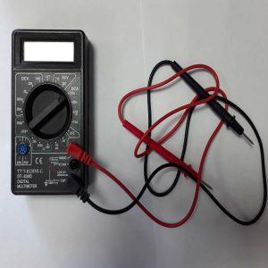 Ankara Ostim Durusoy Kırtasiye Dijital Voltmetre Ölçü aleti