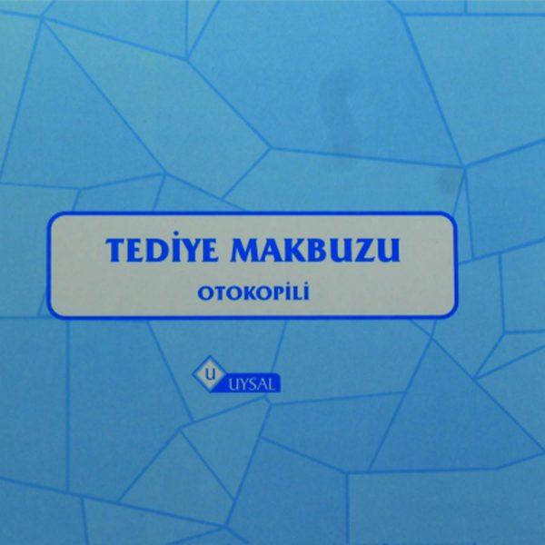 Ankara Ostim Durusoy Kırtasiye Tediye Makbuzu