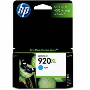 Ostim Durusoy Kırtasiye HP 920XL Cyan Mavi Yüksek Kapasiteli Kartuş CD972AE