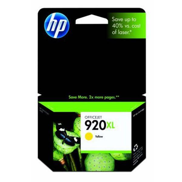 Ostim Durusoy Kırtasiye HP 920XL Yellow Sarı Yüksek Kapasiteli Kartuş CD974AE